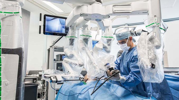 cirurgia robotica prostata